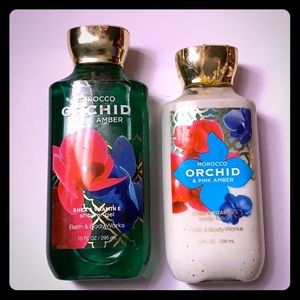 BATH & Body Works Factory Sealed Morroco Orchid